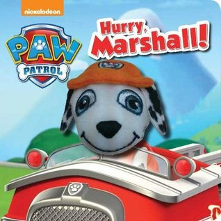 Nickelodeon PAW Patrol Hurry, Marshall! Finger Puppet Book