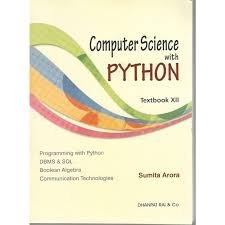 Computer Science With Python (textbook XII)