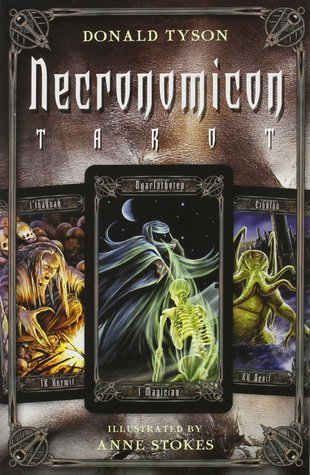 Necronomicon Tarot Cards Kit [With BookWith Tarot CardsWith Black Organdy Bag]