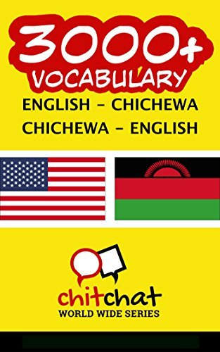 3000+ English - Chichewa Chichewa - English Vocabulary