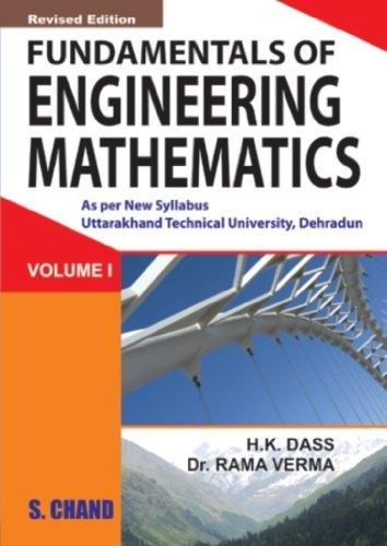 Fundamental of Engineering Mathematics - Vol. 1