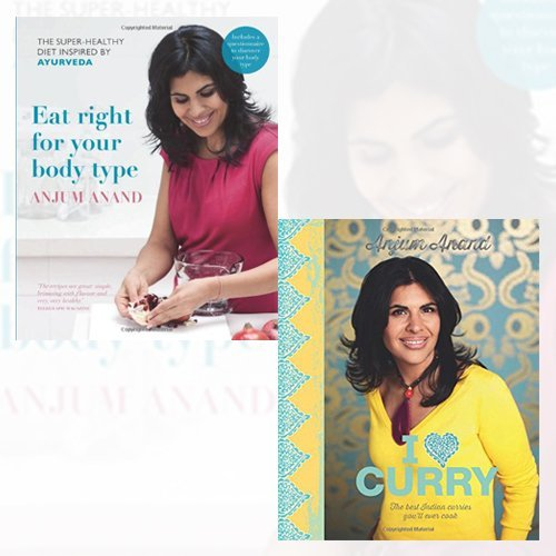 Eat Right for Your Body Type and I Love Curry Collection 2 Book Bundle