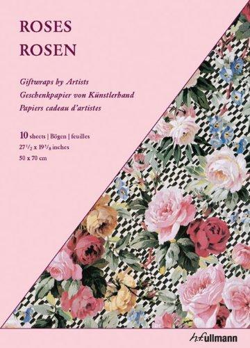 Giftwrap Paper - Roses: Geschenkpapiere von Künstlerhand
