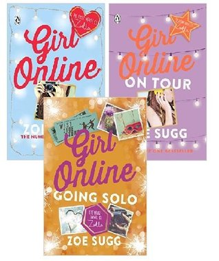 Girl Online 3 books collection (Girl Online ,Girl Online: On Tour,