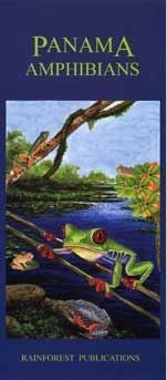 Panama Amphibians Field Guide (Laminated Foldout Pocket Field Guide)