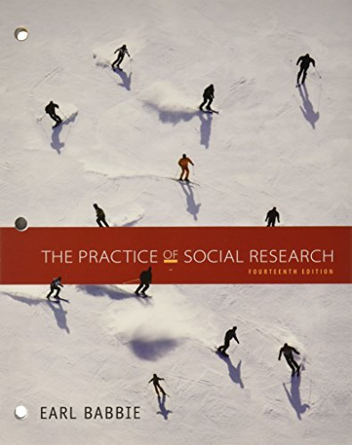 Bundle: The Practice of Social Research, 14th + LMS Integrated for MindTap Sociology Printed Access Card