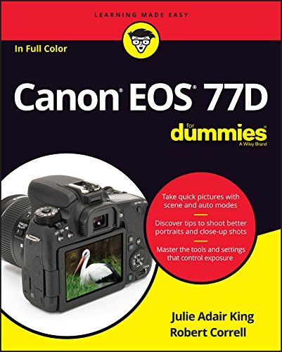 Canon EOS 77D For Dummies (For Dummies
