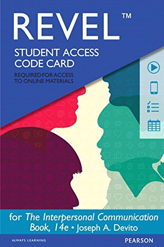 Revel for the Interpersonal Communication Book -- Access Card