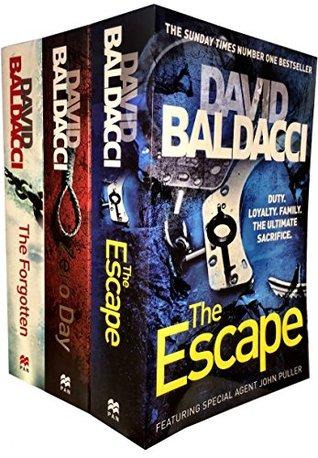 John Puller Series 3 Books Set: The Escape / The Forgotten / Zero Day