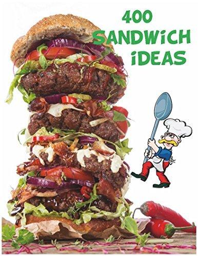 400 Sandwich ideas: reuben cuban chicken salad monte cristo egg salad cucumber club grilled cheese roast beef pulled pork pastrami vietnamese egg ham turkey shredded buffalo chicken