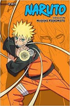 Naruto (3-in-1 Edition), Vol. 18: Includes vols. 52, 53  54
