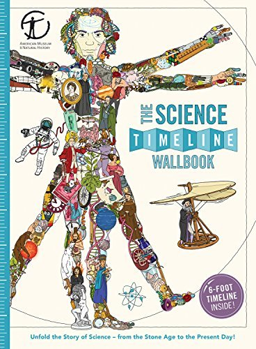 The Science Timeline Wallbook: Unfold the Story of Inventions--From the Stone Age to the Present Day!