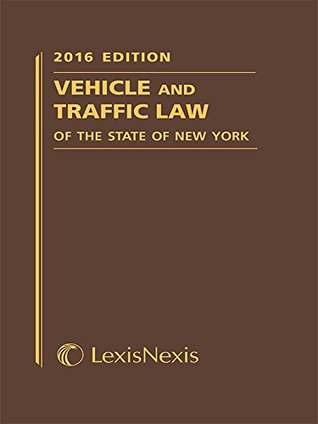 Vehicle and Traffic Law of the State of New York (Softcover)