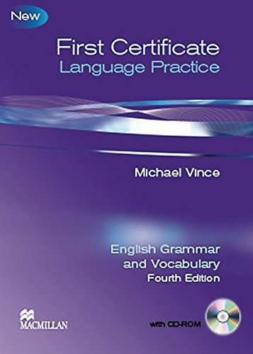 First Certificate Language Practice New. Student's Book with key