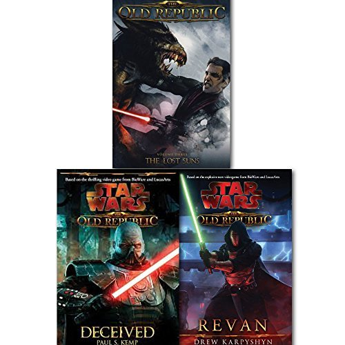 Star Wars Old Republic Series Collection 3 Books Set