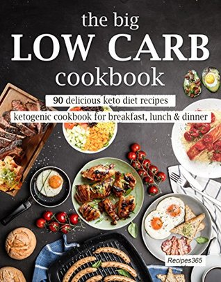 The Big Low Carb Cookbook: 90 Delicious Keto Diet Recipes: Ketogenic Cookbook for Breakfast, Lunch & Dinner