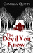 The Devil You Know by Camilla Quinn