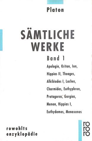 Platon: Sämtliche Werke - Band 1