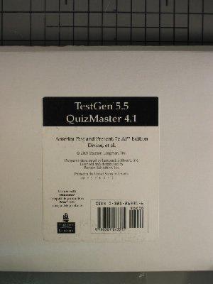 TestGen 5.5 QuizMaster 4.1 (America Past and Present, 7e AP Edition)