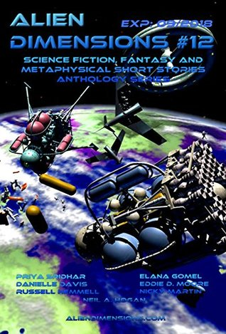 Alien Dimensions #12 cover