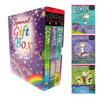 Sesame Seade Mysteries Clementine Beauvais Collection 3 Books Bundle Gift Wrapped Slipcase Specially For You