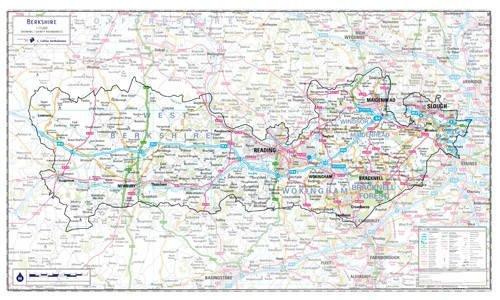Berkshire County Planning Map