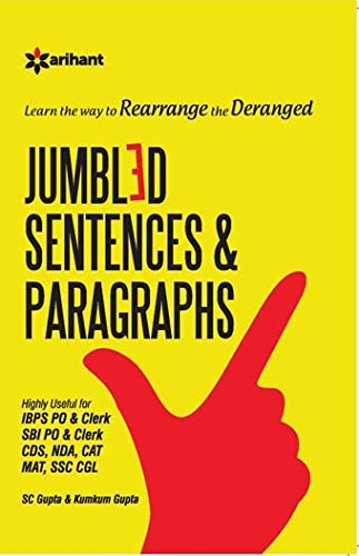 Learn the Way to Rearrange the Dearange Jumbled Sentences and Paragraphs