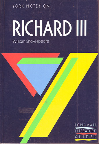 """York Notes on """"Richard III"""" by William Shakespeare (York Notes)"""