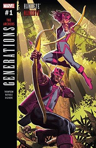Generations: Hawkeye & Hawkeye (2017) #1 (Generations
