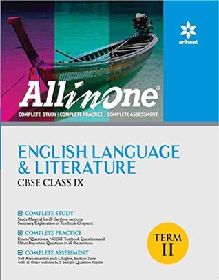 All In one English Language & Literature CBSE Class 9th Term-II