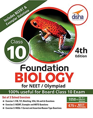 Foundation Biology for NEET/Olympiad for Class 10