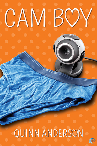 Release Day Book Review: Cam Boy (Murmur Inc. #3) by Quinn Anderson