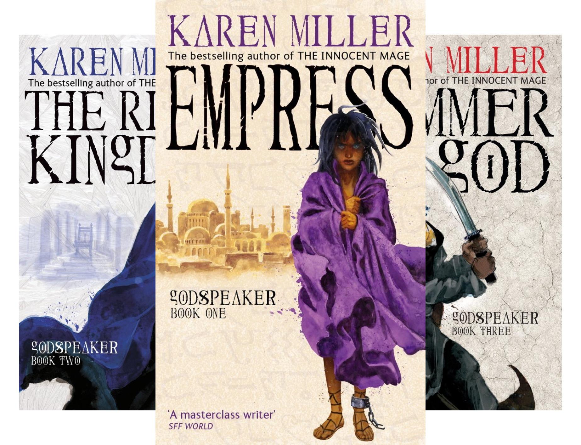 Godspeaker (3 Book Series)