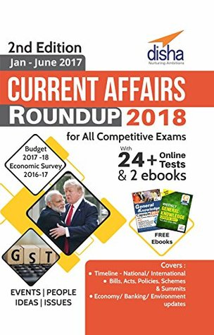 Current Affairs Roundup 2018 with 24+ Online Tests & 2 ebooks 2nd Edition