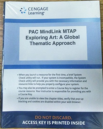 Lms Integrated for Mindtap Art, 1 Term (6 Months) Printed Access Card for Lazzari/Schlesier's Exploring Art: A Global, Thematic Approach, 5th