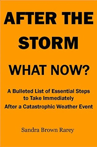 After The Storm, What Now?: A bulleted List of Essential Steps To Take Immediately After A Catastrophic Weather Event