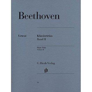 HENLE VERLAG BEETHOVEN L.V. - PIANO TRIOS, VOLUME II Classical sheets Piano