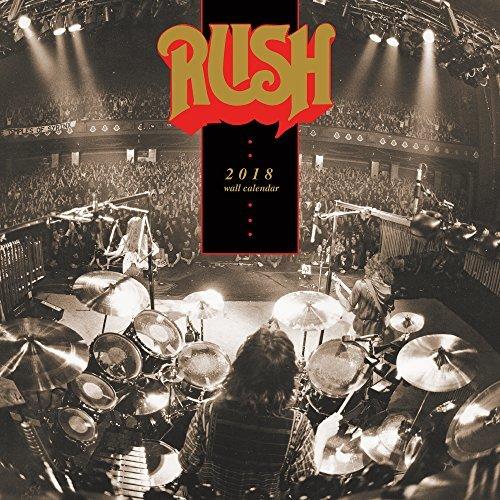 RUSH Albums 2018 Wall Calendar