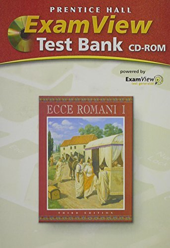 ECCE ROMANI LEVEL 1 COMPUTER TEST BANK PACKAGE WITH TEST BOOK AND CD-ROM2005C