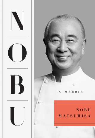 Book cover of author in chef's outfit.