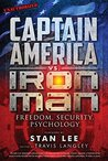 Book cover for Captain America vs. Iron Man: Freedom, Security, Psychology