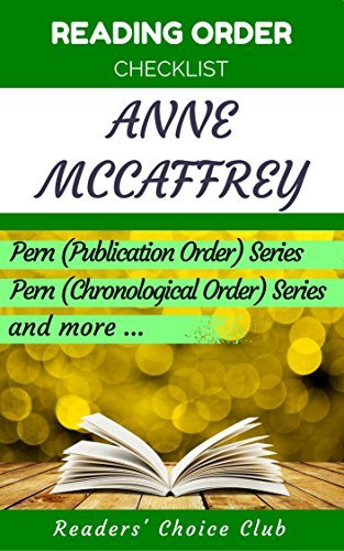 Reading order checklist: Anne Mccaffrey - Series read order: Pern (Publication Order) Series, Pern (Chronological Order) Series and more!