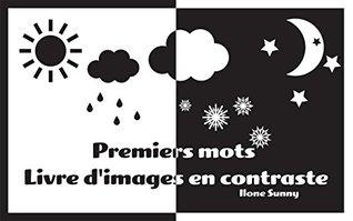 """Livre pour bébé: """" Premiers mots - Livre d'images en contraste"""":"""