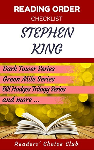 Reading order and checklist: Stephen King - Series read order: Dark Tower Series, Green Mile Series, Bill Hodges Trilogy Series and all others!