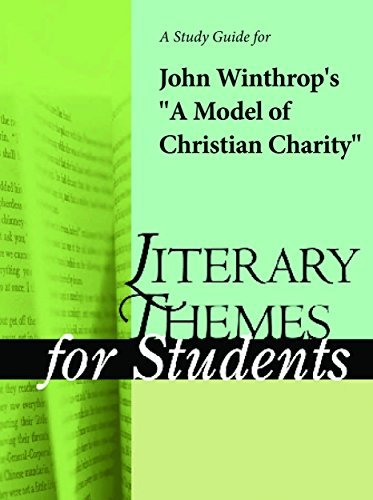 """A Study Guide for John Winthrop's """"A Model of Christian Charity"""""""