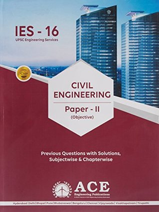 IES-16-CIVIL-Objective P-2 (IES-16 (UPSC) Previous questions and solutions)