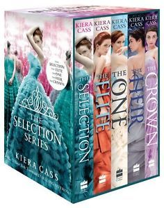 The Selection Series 1-5 Book Set (The Selection, #1-5)