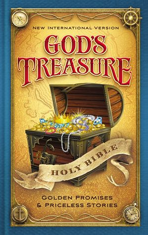 NIV God's Treasure Holy Bible: Golden promises and priceless stories