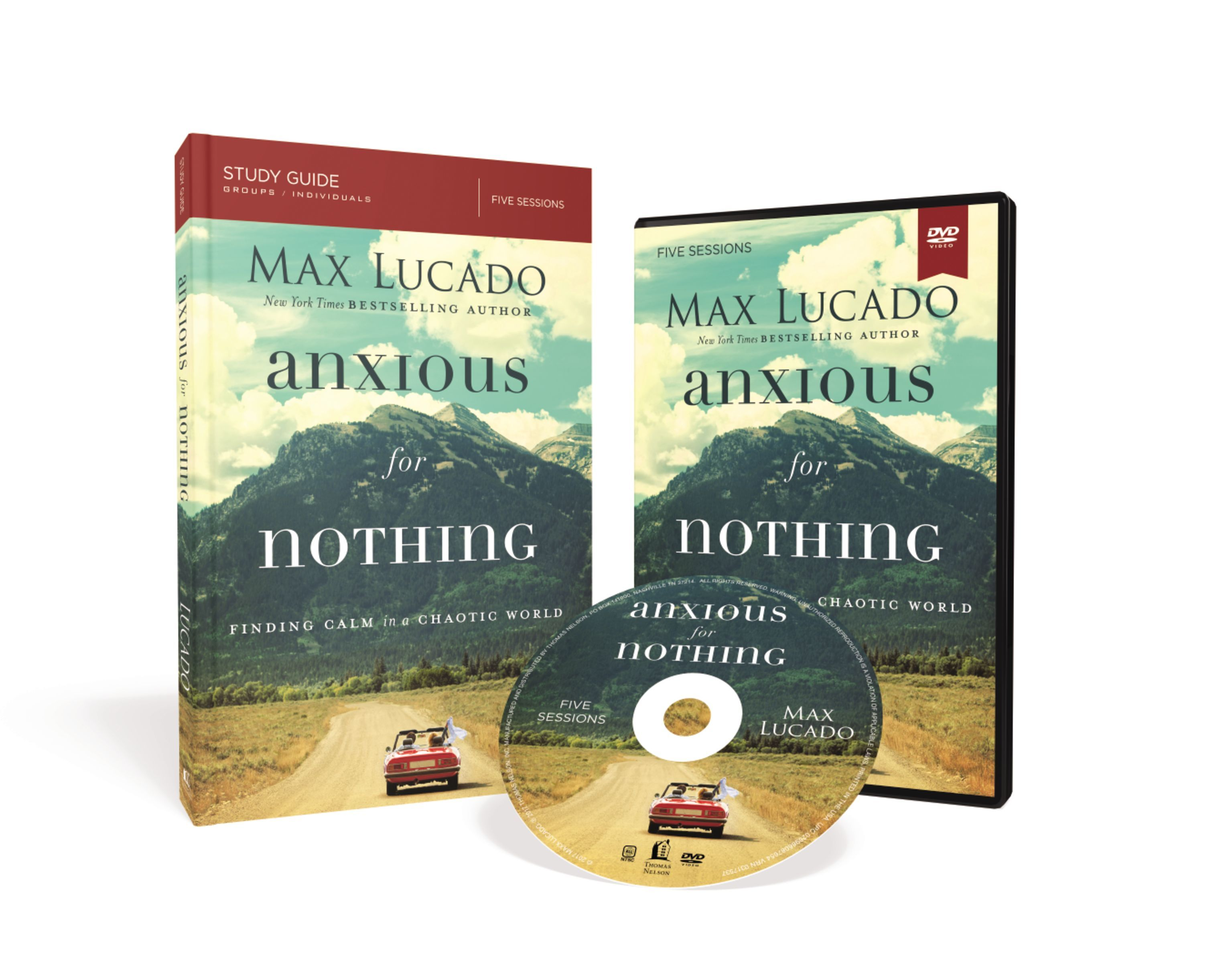 Anxious for Nothing: Finding Calm in a Chaotic World: Study Guide with DVD