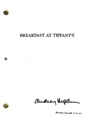 Breakfast At Tiffany's Scipt